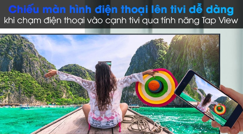 11. Tính năng Tap View (Samsung), Screen Mirroring (Android), Airplay 2 (iPhone)