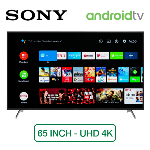 Android Tivi Sony KD-65X8050H 65 inch 4k
